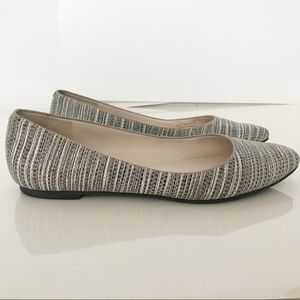 Cole Haan pattern flats - size 8